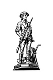 Minutemen Giclee Print