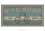 Bike Shop I Kunst von Erica J. Vess