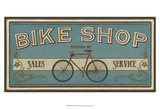 Bike Shop I Prints by June Erica Vess