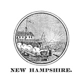 New Hampshire State Seal Giclee Print