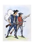Minutemen, 1770S Prints