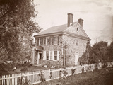 Valley Forge: House Photographic Print