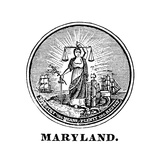 Maryland State Seal Poster