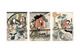 Kabuki Play, 1847 Giclee Print by Toyokuni Utagawa