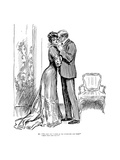 Kiss, 1903 Premium Giclee Print by Charles Dana Gibson