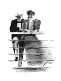 Couple, 1897 Prints by Charles Dana Gibson