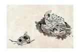 Japan: Samurai and Student Giclee Print