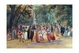 Rugendas: Park, 1833 Giclee Print by Johann Moritz Rugendas