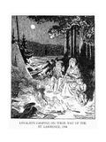 Upper Canada: Loyalists Prints by Charles W. Jeffereys