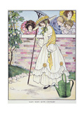 Mother Goose, 1916 Premium Giclee Print by Blanche Fisher Wright