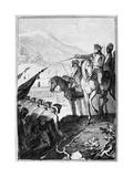 Saratoga: Surrender, 1777 Giclee Print by Johann Ramberg