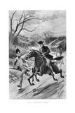 Paul Revere's Ride Giclee Print by John Steeple Davis