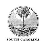 South Carolina State Seal Prints