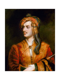 George Gordon Byron Giclee Print by Thomas Phillips
