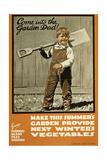 WWI: Farming, C. 1915 Giclee Print by Joseph Ernest Sampson