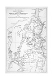Hudson River: Military Map Giclee Print