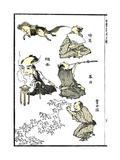 Manga, 1819 Prints by Katsushika Hokusai