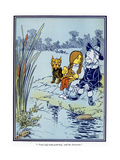 Wizard of Oz, 1900 Giclee Print by William Wallace Denslow