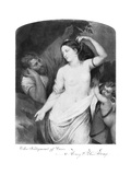 Judgement of Paris Premium Giclee Print by Henry Peters Gray