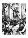 Alexander Hamilton Giclee Print by Howard Pyle