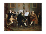 String Quartet Giclee Print