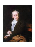 William Blake (1757-1827) Print by Thomas Phillips