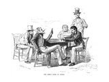 Georgia: Poker Game, 1840s Giclee Print by Arthur Burdett Frost