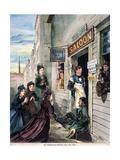 Temperance Crusade, 1874 Poster