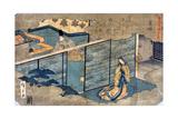 Japan: Tale of Genji Giclee Print by Ando Hiroshige