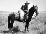 Montana: Cowboy, 1904 Photographic Print by Laton Alton Huffman