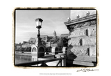 View of the Royal Palace, Budapest Print by Laura Denardo
