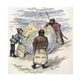 Cartoon: Imperialism, 1885 Giclee Print by Thomas Nast