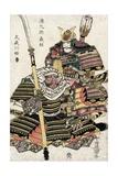 Samurai, 12th Century Giclee Print by Toyokuni Utagawa