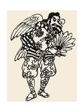 Japanese Folklore: Tengu Giclee Print