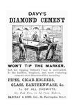 Davy's Diamond Cement Giclee Print