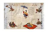 Japan: Acrobats Giclee Print
