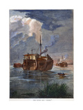 British Prison Ship Giclee Print