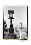 Chain Bridge over the Danube River Prints by Laura Denardo