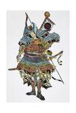 Soldier: Samurai Giclee Print by Totoya Hokkei