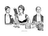 A Word to the Wise Giclee Print by Charles Dana Gibson