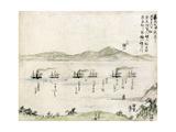 Japan: Matthew Perry, 1854 Poster