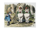 Looking Glass Premium Giclee Print by John Tenniel
