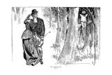 Highwayman, 1898 Giclee Print by Charles Dana Gibson