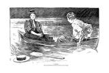 A Drama, 1895 Giclee Print by Charles Dana Gibson