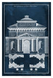 Palace Facade Blueprint II Giclee Print by  Vision Studio