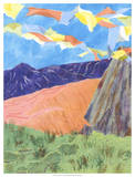 Prayer Flags V Giclee Print by Carolyn Roth