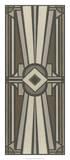 Neutral Deco Panel II Giclée-Druck von Erica J. Vess