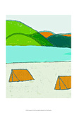 Camping IV Art by Amy Lighthall
