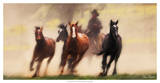 The Chase IV Giclee Print by David Drost