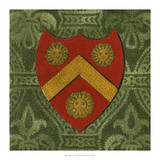 Noble Crest V Giclee Print by Vision Studio